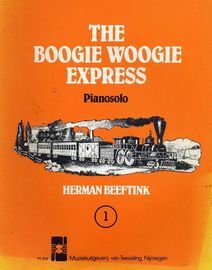 The Boogie Woogie Express - Piano Solo - Book 1