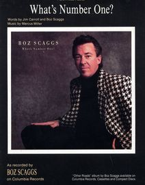 What's number one? - Piano - Vocal - Guitar - Featuring Boz Scaggs