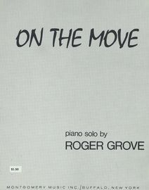 On the Move - Roger Grove Piano Solo