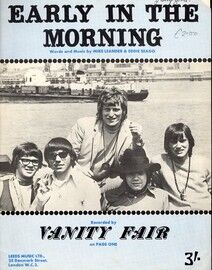 Early In The Morning - featuring Vanity Fair