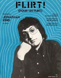 Flirt (Pour un Flirt) - Featuring Jonathan King - Blue edition