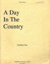 A Day in the Country - For Horn and Piano