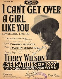 I Cant Get Over a Girl Like You (loving a boy like me) - Terry Wilson