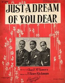 Just a Dream of You Dear - Featuring Male Quartet, Featuring The Versatile Three,
