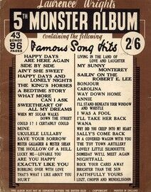 Lawrence Wright's 5th Monster Album - 43 Songs
