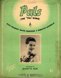 Pals  (The 'Pals' song) - Featuring Jeanette Adie
