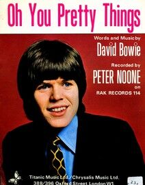 Oh You Pretty Things - Song - Featuring and sung by Peter Noone - By David Bowie