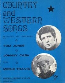 Country and Western Songs - Featuring Tom Jones and Johnny Cash