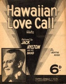 Hawaiian Love Call - Featuring Jack Hylton