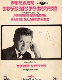 Please Love Me Forever - Song - Featuring Bobby Vinton