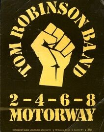 2. 4. 6. 8. Motorway - Song - Tom Robinson Band