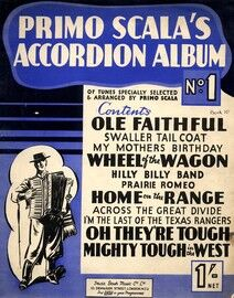 Primo Scala's Accordion Album No. 1 - Tunes specially selected & arranged by Primo Scala
