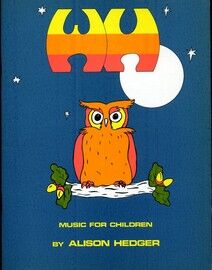 W. H.  - Songs for Children - With recorder and percussion accompaniment