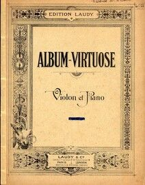 Album Virtuose - For Violin and Piano - Edition Laudy