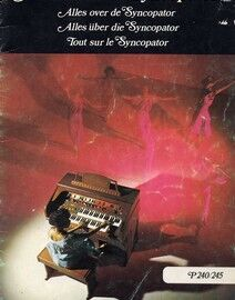 All About the Syncopator - Simple Tunes for Modern Organ - P240/245