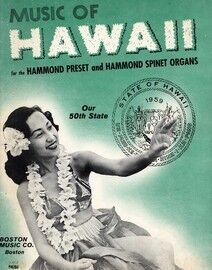 Music of Hawaii for the Hammond Preset and Hammond Spinet Organs -