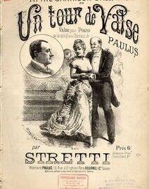 Un Tour De Valse - For Piano by R. Stretti