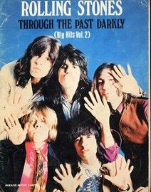 Rolling Stones - Through the Past Darkly (Big Hits Vol. 2) - For Voice and Piano with Chords - Featuring The Rolling Stones
