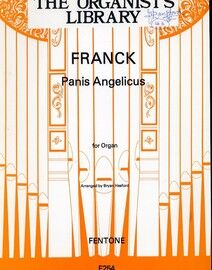 Panis Angelicus  (O Wond'rous Heavenly Bread) for Organ - F254