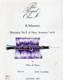 Schumann - Romance No. 3 of