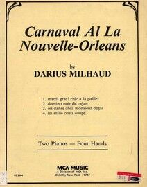Carnaval Al La Nourvelle Orleans - For Two Pianos