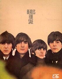 Beatles for Sale - For Voice and Piano with Guitar Tab - Featuring The Beatles