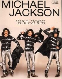 Michael Jackson - (1958-2009) - For Voice and Piano with Guitar Tab - Featuring Michael Jackson
