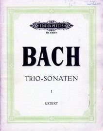Bach - 2 Sonatas - For String Trio and Harpsichord - Edition Peters No. 4203a