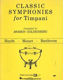 Classic Symphonies for Timpani - Haydn, Mozart and Beethoven