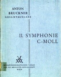 Bruckner - Symphony No. 2 in C Minor - Orchestral Score