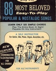 88 Most Beloved Easy to Play Popular & Nostalgic Songs - A Self Instructor for All Instruments - Book 1