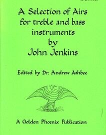 Jenkins - A Selection of Airs for Treble and Bass Instruments