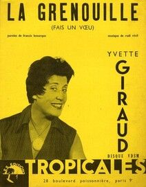La Grenouille (Fais un Vceu) - Featuring Yvette Giraud - with French words