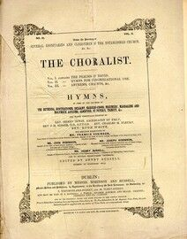 The Choralist - Hymns for Congregational Use - Volume 2, No. 3 - No.'s 17 to 24 - Arranged for 1st Treble, 2nd Treble (or Alto), Tenor and Bass with a