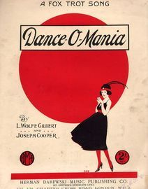 Dance - O - Mania - For Piano and Voice
