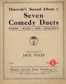 Darewskis Second Album of Seven Comedy Duets - As Goodfellow and Gregson, Etheridge and Furse, King Benson, Etc