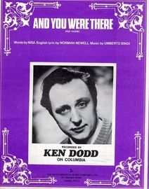And You Were There - Featuring Ken Dodd