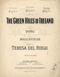 Selection of Popular Songs, for piano sol, Sink Red Sun, The Reason, Happy Song, The Green Hills of Ireland, O Dry those Tears, Thank God for a Garden