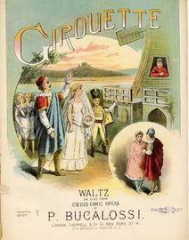 La Girouette, waltz on airs from Coedes comic opera,