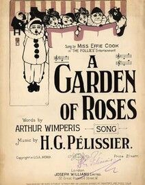 A Garden of Roses, sung by Miss Effie Cook