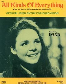 All Kinds of Everything - Featuring Dana - Official Irish Entry for Eurovision