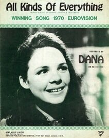 All Kinds of Everything - Featuring Dana - Winning Song 1970 Eurovision