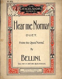 Hear Me Norma - Vocal Beauties of Norma No. 3, sung by Miss Rainforth & Miss Adelaide Kemble