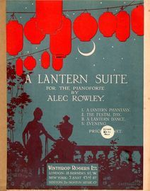 A Lantern Suite - For the Pianoforte
