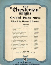 O Dear what can the matter be - the Chesterian Series of Graded Piano Music - Grade VII (advanced) - Series No. 4