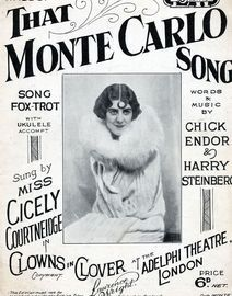 That Monte Carlo song - Featuring Miss Cicely Courtneidge in
