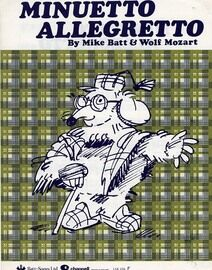 Minuetto Allegretto - Song -  As performed by The Wombles