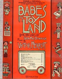 Babes in Toyland - Waltzes from Hamlin and Mitchell\'s stupendous extravaganza as produced at the Grand Opera House, Chicago