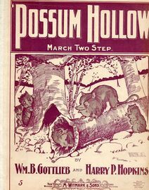 'Possum Hollow - March and Two Step for Piano Solo