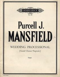 Purcell J Mansfield Wedding Processional (Grand Choeur Nuptiale) - Op. 150 - Organ - Hinrichsen Edition No. 259